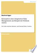 Konzeption eines integrierten Value Managements am Beispiel der Telekom Austria