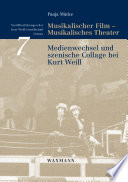 Musikalischer Film, Musikalisches Theater