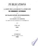 Publications de la Section historique de l'Institute G.-D. de Luxembourg