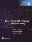 International Finance  Theory and Policy  Global Edition