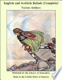 English and Scottish Ballads  Volumes II  III and IV  of 8