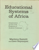 Educational Systems Of Africa