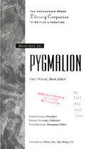 Readings on Pygmalion