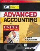 Adv Accounting  For Ca Ipcc Exm