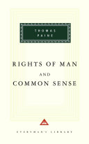 Rights of Man and Common Sense
