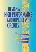 Design of High Performance Microprocessor Circuits