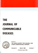 The Journal of Communicable Diseases