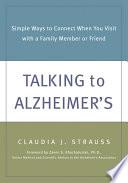 Talking To Alzheimer S