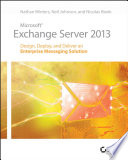 Microsoft Exchange Server 2013 book
