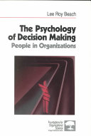 The Psychology of Decision-Making
