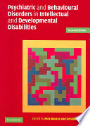 Psychiatric And Behavioural Disorders In Intellectual And Developmental Disabilities book