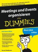 Meetings und Events organisieren für Dummies