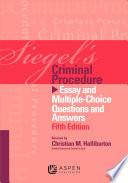Siegel s Criminal Procedure