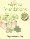 Algebra Foundations  Prealgebra  Introductory Algebra   Intermediate Algebra    With Access Card