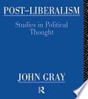 Post Liberalism