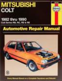 Mitsubishi Colt Automotive Repair Manual