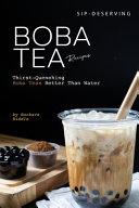 Book Sip Deserving Boba Tea Recipes