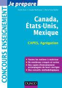 illustration Canada, Etats-Unis, Mexique - Capes-Agrégation