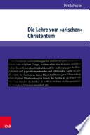 Die Lehre vom »arischen« Christentum