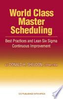 World Class Master Scheduling