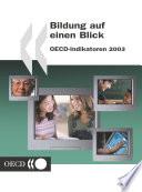 Bildung auf einen Blick 2003 OECD-Indikatoren