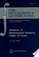 illustration Advances in Mathematical Sciences--CRM's 25 Years