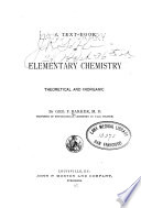A Text Book of Elementary Chemistry