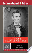 Lincoln s Selected Writings