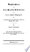 Aschaffenburg und seine Umgegend. Ein Handbuch für Fremde