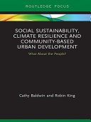 Social Sustainability, Climate Resilience And Community-Based Urban Development : disasters linked to climate change,...