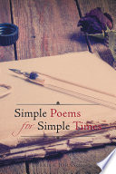 Simple Poems for Simple Times