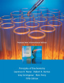 Principles of Biochemistry  Pearson New International Edition