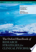 The Oxford Handbook of Research Strategies for Clinical Psychology
