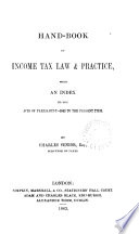 Hand book of Income Tax Law   Practice