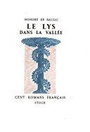 Le lys dans la vall  e  pr  face de Marcel Bouteron