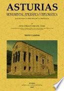 Asturias monumental, epigráfica y diplomática