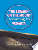The Sermon On the Mount According to Vedanta