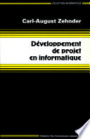 illustration du livre Développement de projet en informatique