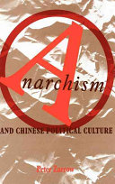 Anarchism and Chinese Political Culture