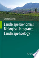 Landscape Bionomics Biological Integrated Landscape Ecology