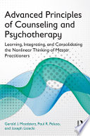 Advanced Principles Of Counseling And Psychotherapy