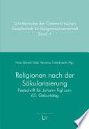 Religionen nach der Säkularisierung