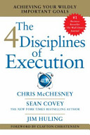 The 4 Diciplines of Execution