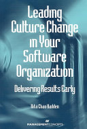Leading Culture Change in Your Software Organization