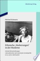 """Ethnische """"Säuberungen"""" in der Moderne"""