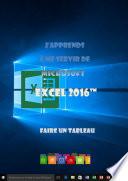 illustration J'apprends à me servir de Excel 2016