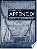 Fiscal Year 2016 Appendix  Budget of the United States Government