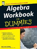 Algebra Workbook for Dummies  Student Edition  Wal mart Custom