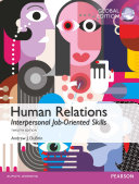 Human Relations  Interpersonal Job Oriented Skills  Global Edition