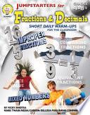 Jumpstarters for Fractions   Decimals  Grades 4   8